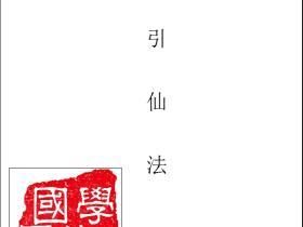 道教龙门派十八代传人王力平老师传授龙门秘法《引仙法》
