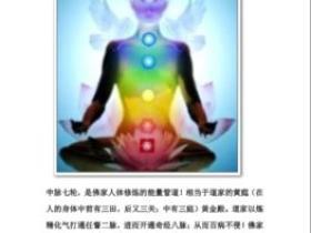 中脉七轮 藏秘打通中脉教程 元神灵修秘法电子版