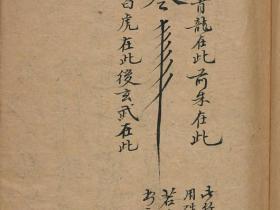 清代真传孤本《南極天華寶錄祝由科符篆》