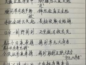 华光大帝马元帅《华光法》手写法本50页电子版