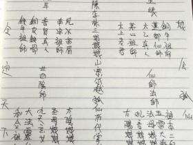 民间秘法《九尾狐仙法本》28页电子版