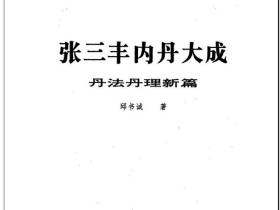 正统丹道功《张三丰内丹大成函授教程》电子版
