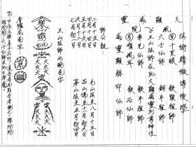 大显威灵《六壬三山法本》34页电子版