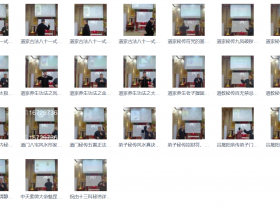 谷晟阳亲传弟子内部秘训精品课程31课视频资料